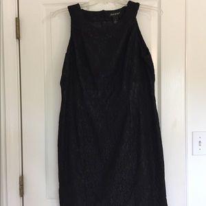 Black Lace Lane Bryant Formal Dress
